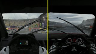 Gran Turismo Sport vs Forza Motorsport 7 Rain Effect Comparison