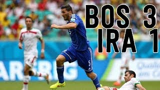 Bosnia First World Cup Win, Leaves Tournament With Pride [Iran vs. Bosnia 3-1]