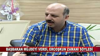 BAŞBAKAN MÜJDEYİ VERDİ, ERCOŞKUN ZAMANI SÖYLEDİ  (24.03.2016-BOLU)