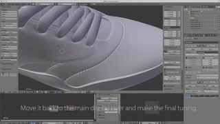 3D Stitching tutorial in Blender