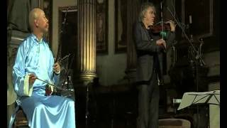 Guo Gan   and    Didier  Lockwood   in  Paris  Madeleine 2014