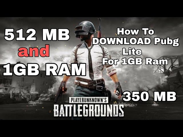 Download thumbnail for download Pubg Lite for 1gb 512 mb ram (350mb