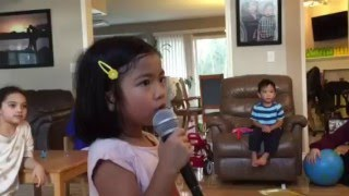 All I Ask - Adele - cover by Naomi (5 years old)