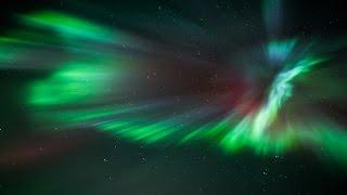 Real Time Video of Aurora Borealis 27.08.2015