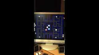 Original Pacman arcade PCB boots