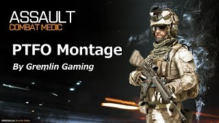Battlefield 3:  PTFO Assault Gameplay Montage