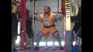 Week 6 Squat training