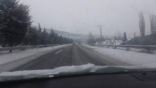 Avtopat Tetovo - Skopje 10.01.2017
