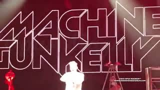 Machine Gun Kelly Gets Booed Offstage While Performing Rap Devil Eminem Diss