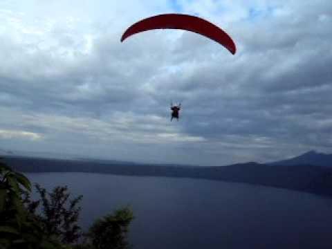 Paragliding Laguna de Apoyo, Nicaragua