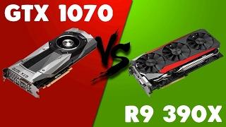 GTX 1070 vs R9 390X - 1080p