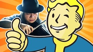 Fallout 4 - Main Theme (Violin, Guitar & Orchestra Cover/Remix) || String Player Gamer