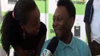 Entrevista Pelé TV Record - Mangolê do Sucesso (Build Brasil - Angola)
