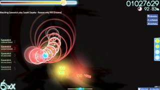 Sasaki Sayaka - Reason why XXX (osu!) (Insane) (88.99%)