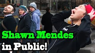 SINGING IN PUBLIC - SHAWN MENDES!!