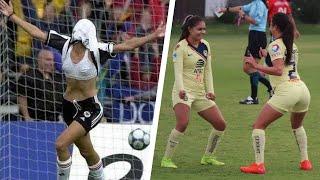 Crazy Goal Celebrations in WOMEN's Football