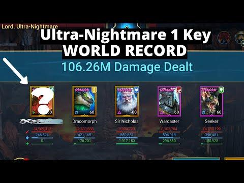 UNM 1 Key World Record 6/14/20 I Raid Shadow Legends