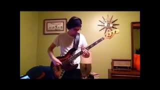 Love Hangover (Diana Ross) Bass Cover with 1976 Greco Jazz Bass