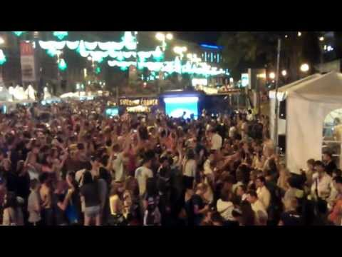 Swedich Corner Kyiv UKRAINE EURO 2012 Final Spain vs Italy