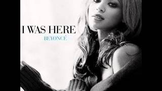 beyonce- i was here-audio