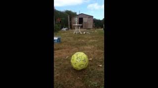 Tir de précision avec un ballon de foot !