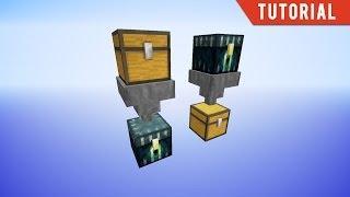 Vanilla Minecraft 'Ender Hoppers'