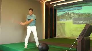 Pro Am Golf Academy 試著主動讓雙手參與釋放 再慢慢加入轉身