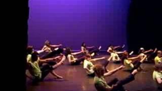 Coreografia de Pilates
