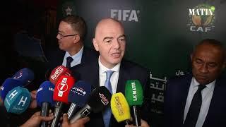 Séminaire CAF-FIFA à Maâmora : Gianni Infantino lance les débats sur la périodicité de la CAN