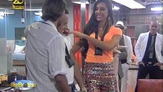 Big Brother Vip - Moisés conhece Kelly e elogia Pedro Guedes
