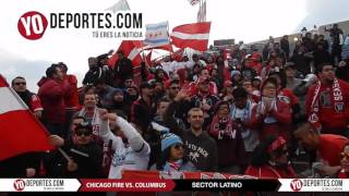 Sector Latino Chicago Fire vs Columbus Crew SC