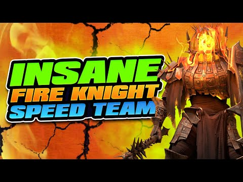 Game Changing Fire Knight Team I Raid Shadow Legends