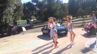 """Rada Manojlovic - Deo koreografije za pesmu """"Macarena"""" - (Privat 06.08.2013.)"""