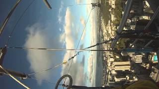 Jazz's sky jump from Sky Tower, Auckland