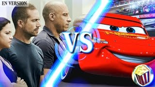 FAST AND FURIOUS 8 (CARS STYLE) | ANTI-TRAILER (eng version)