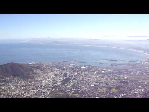 Nice view from Table Mountain, HD, Cape town