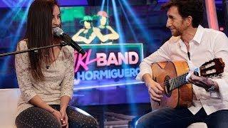 El Hormiguero 3.0 - Nati, una voz especial, canta con Pablo Motos a la guitarra