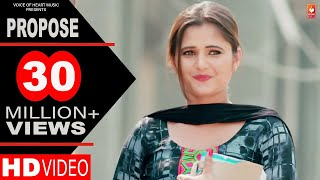 Propose | Amit Dhull | Anjali Raghav | Latest Haryanvi Songs Haryanavi 2018 | Most Popular DJ Songs width=