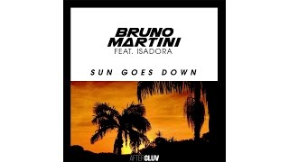 Bruno Martini - Sun Goes Down (Audio) ft. Isadora