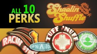 Shaolin Shuffle Zombies - All 10 Perk Locations Walkthrough (How to find all Perks step by step)