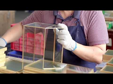 Glass Terrarium Manufacturing Progress in China Factory | Co-Arts Innovation