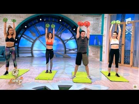 Exerciții pentru toate grupele de mușchi