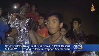 Navy SEAL Diver Working To Rescue Soccer Team Trapped In Thailand Cave Dies
