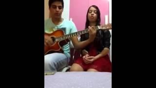 """Renan & Melissa """"Cover"""" tu és fiel senhor (Eyshila)"""