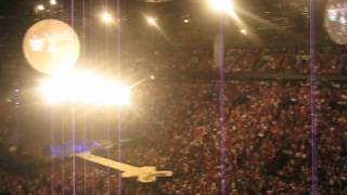 Coldplay - Speed of sound (live à Montreal - 26 juillet 2012)