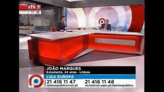 Sic Noticias - Opinião Pública | Liga Europa