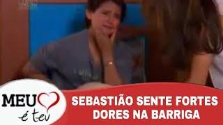 Meu Coração e teu - Sebastião sente Forte dores na Barriga