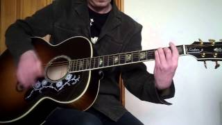 Morrissey - Every Day Is Like Sunday (Acoustic) Cover