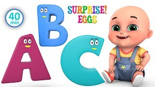 abcd animals rhymes for children | Learn ABCD for kids | kindergarten baby songs by jugnu kids width=