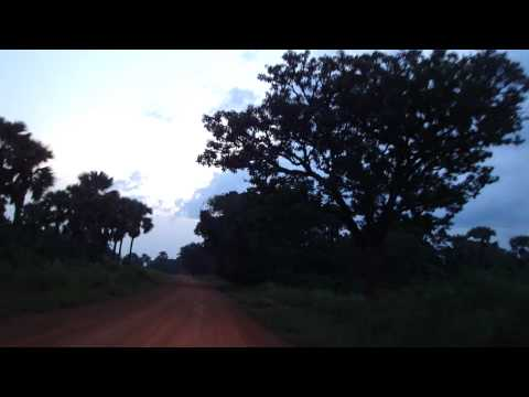 Road from Juba to Yei in South Sudan Africa 20
